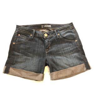 Hudson Cuffed Jean Shorts